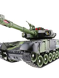 Battle Tanque 1:10 Carro com CR Pronto a usar Tanque Controle Remoto/Transmissor Manual Do Usuário Carregador De Bateria Bateria Para