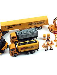 Недорогие -комплект Дибанг -2272 грузовик 1:64 сплава модель игрушки автомобиля электрический дрезине игрушки для детей (2 шт)