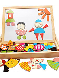 Wooden Magnetic Spell Spell, Children Magnetic Drawing Board, the Baby Early Childhood Educational Toys
