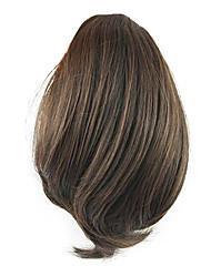 Недорогие -Medium Auburn Кулиска Естественные волны Конские хвостики Синтетический Волосы Наращивание волос