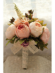 cheap -Wedding Flowers Free-form Handmade Roses Bridal Bouquets Wedding Accessories