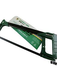 gjj008 aluminium scies tube carré hacksaw cadre bois à main scies à archet