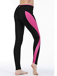 Women's Running Tights Gym Leggings Compression Bottoms for Exercise & Fitness Running Red S M L XL