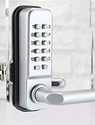 cheap -Second Version Mechanical Password Glass Door Lock,Keyless Code Locks