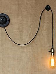 Væglys Baggrundsbelysning Max 60WW 110-120V 220-240V E26/E27 Tradisjonell / Klassisk Land Retrorød Andre