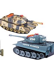 Недорогие -HUANQI 508 танк Машинка на радиоуправлении Готов к использованию Пульт Yправления танк Батарея для автомобиля ЗAрядное Yстройство