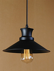cheap -Retro Contracted Wrought Iron Pendant Lights Restaurant,Cafe ,Game Room,Garage light Fixture