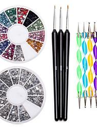 preiswerte -Nail Kit Nail Art Deko-Zubehör Nail DIY Acryl Set