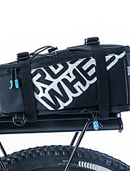 Bike Bag 5LPanniers & Rack Trunk Shoulder Bag Bike Trunk Bags Waterproof Shockproof Wearable Bicycle Bag PU Leather 400D Nylon Cycle Bag