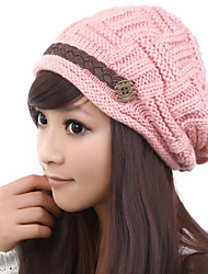 cheap -Lovely Warm Autumn And Winter Fashion Crimping Wool Ear Protection Hat
