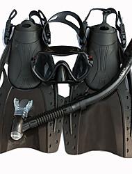 Dykning Pakker Svømmemaske Dykkerfinner Snorkelsæt Dry top Dykning og snorkling Silikone-SBART