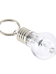 Color Changing Mini Bulb Torch Key Chain Keyring LED Flash Lights Torch Gift Lamp