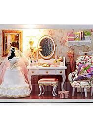 Недорогие -Чи весело дом поделки хижина т-001 люблю тебя навсегда ручной творческий день Святого Валентина подарок ручной дом