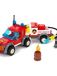 Blocos de Construir / Puzzle brinquedo / brinquedo educativo para presente Blocos de Construir ABS acima de 6 Vermelho Brinquedos