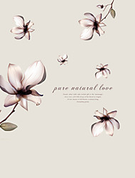 cheap -Fantasy Flowers Pure Natural Love Background Wall Art DIY Removable Fashion Living Room Wall Decals