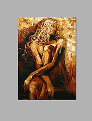 arte astratta della parete della signora arte decorazione della barra dipinta a mano dipinta ad olio pronto a appendere con la struttura