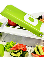 cheap -Vegetable Fruit Nicer Dicer Slicer Cutter Plus Container Chopper Peeler