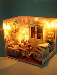 Недорогие -1шт поделок дом толщиной любят творческие подарки подарок на день рождения образовательные игрушки огни светодиодные лампы