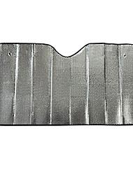 protetor de pára-sóis auto frente do pára-brisa sol 140 * 70 alumínio