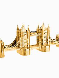 Недорогие -3D пазлы Деревянные пазлы Металлические пазлы Знаменитое здание Металл Мальчики Девочки Игрушки Подарок
