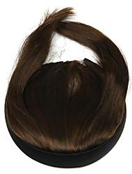 Недорогие -парик коричневый 10см высокотемпературный провод бакенбарды Liu цвет ци 2009