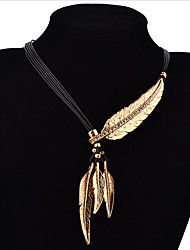 cheap -Women's Fashion Pendant Necklace Silver Plated Gold Plated Pendant Necklace , Daily Casual