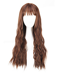 Daily Wearing Wig Brown Black Loose Wave Long Length 28 inch 2016 Summer Fashion Women Wig