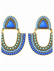 cheap -Bohemian Beads U-shaped Beach Holiday Style Earrings Elegant Style