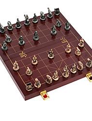 Недорогие -китайский шахматы твердый металл шахматы шахматы большой сплав цинка