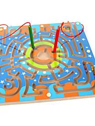 abordables -Juguetes Magnéticos Piezas 25*15 MM Juguetes Magnéticos Laberintos y Juegos de Lógica Laberinto Juguetes ejecutivos rompecabezas del cubo
