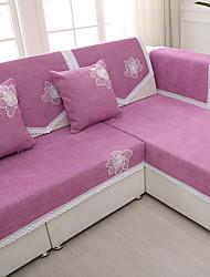 baratos -sólida de alta qualidade chenille sofá toalha quatro estações antiderrapante tecido de sofá almofada