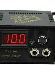 cheap -LCD Tattoo Machine Power Supply Digital professional power Clip Cord Foot Switch Power Plug