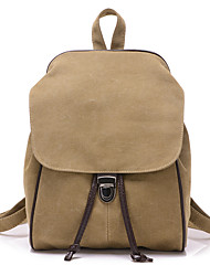 Women Bags Canvas School Bag for Shopping Casual Outdoor Fall Beige Gray Brown Blue Khaki