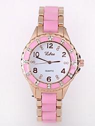 Недорогие -часы взрыва моделей имитация керамической алмазов дамы часы дамы кварцевые часы