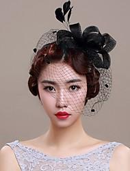 Ženy Proutěné zboží Organza Přílba-Svatba Zvláštní příležitost Ozdoby do vlasů Jeden díl