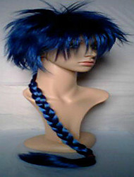 cheap -2 Colors New Stylish  Man's Cosplay Wigs Synthetic Hair Wig Knitting Long Curly Animated Wig Weaving  Party Wig