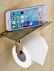 Toilet Paper Holder / Polished Brass Brass /Antique
