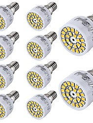cheap -2W 150-200 lm E14 LED Spotlight T 24 leds SMD 2835 Decorative Warm White Cold White AC 220-240V