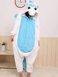 cheap -Women's Cotton Hooded Pajamas Color Block Animal