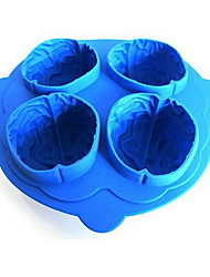 DIY Brain Ice Mold High Quality Kitchen Gadgets Use Everyday(1pc and Random Color)