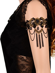 cheap -Women's Body Jewelry Arm Cuff/Arm bands Body Chain Lace Black Sexy Costume Jewelry For Daily Casual Summer