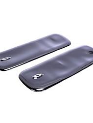 abordables -2 PC frente parte trasera de goma protector de protectores de esquinas para los coches de automóviles
