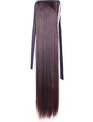 Kvinder Syntetiske parykker Lågløs Glat #3 Mellembrun #6 #8 #10 kostume Parykker