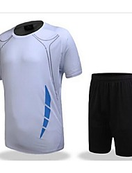 cheap -Others Kid's Short Sleeve Soccer Clothing Sets/Suits Breathable / Quick Dry / Leisure Sports / Football / Running