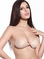 フルボディ / 胸回り サポート ヌードブラ 押し指圧 サポート 力調節可 シリコーン