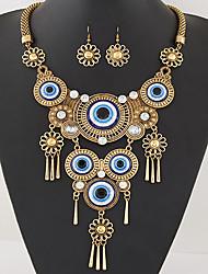 abordables -Mujer Juego de Joyas Collar / pendientes Borla Moda Joyería Destacada Europeo Collares Pendientes Para Fiesta Diario Regalos de boda