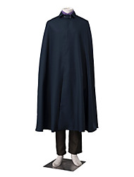 cheap -Inspired by Chi-bi Maruko Sasuke Uchiha Anime Cosplay Costumes Cosplay Suits Color Block Long Sleeves Vest Top Pants Glove Cloak Rope For
