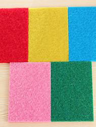(colore casuale) 10 pc / insieme a colori ad alta efficienza stracci da cucina panno di pulizia purga forte decontaminazione