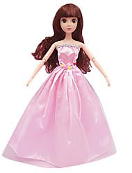 Недорогие -все включено свадебное платье большая юбка платье трейлинг платье 29см кукла детская одежда бесплатно