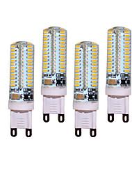 5W G9 Luci LED Bi-pin T 104 leds SMD 3014 450-500lm Bianco caldo Luce fredda Decorativo AC 220-240